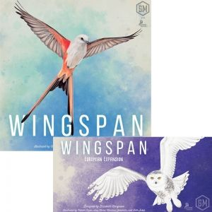 БЪНДЪЛ - WINGSPAN (INCL SWIFT-START PACK) - 2020 REPRINT + WINGSPAN: EUROPEAN EXPANSION