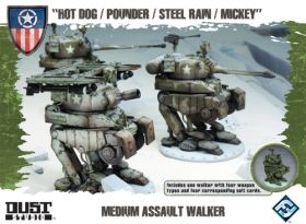 DUST TACTICS - MEDIUM ASSAULT WALKER - Expansion