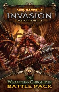 WARHAMMER INVASION - THE WARPSTONE CHRONICLES -  Battle Pack 5