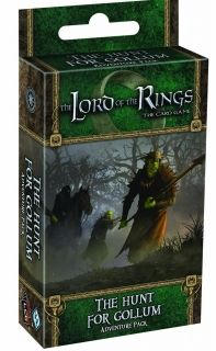 The LORD Of The RINGS The Card Game - THE HUNT FOR GOLLUM - Adventure Pack 1