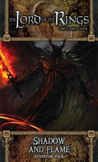 The LORD Of The RINGS The Card Game - SHADOW AND FLAME  - Adventure Pack 6