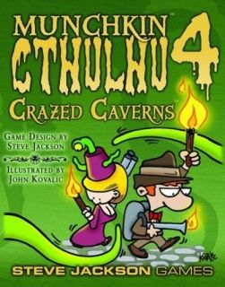 MUNCHKIN CTHULHU 4 - CRAZED CAVERN - EXPANSION