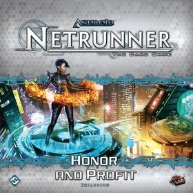 ANDROID: NETRUNNER The Card Game - HONOR AND PROFIT - Expansion