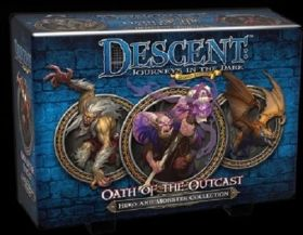 DESCENT 2nd EDITION - OATH OF THE OUTCAST