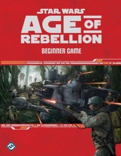 STAR WARS AGE OF REBELLION - Beginner Game