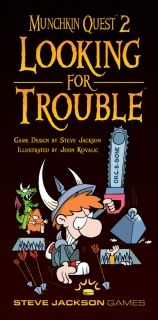 MUNCHKIN QUEST 2 - LOOKING FOR TROUBLE - EXPANSION