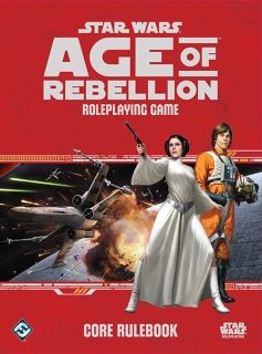 STAR WARS AGE OF REBELLION - ROLEPLAYING GAME