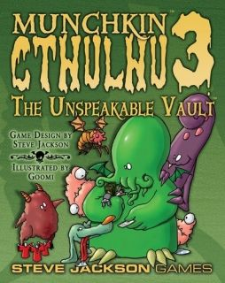 MUNCHKIN CTHULHU 3 - THE UNSPEAKABLE VAULT - EXPANSION