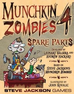 MUNCHKIN ZOMBIES 4 - SPARE PARTS - EXPANSION