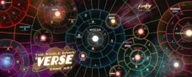 ПОДЛОЖКА ЗА ИГРА - FIREFLY: THE GAME - THE WHOLE DAMN 'VERSE 50'' x 20''