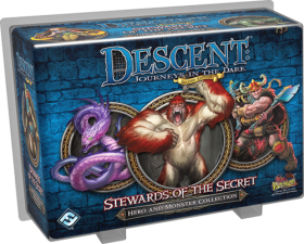 DESCENT 2nd EDITION - STEWARDS OF THE SECRET