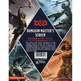 DUNGEONS & DRAGONS DUNGEON MASTER'S SCREEN: ELEMENTAL EVIL