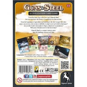 GUNS & STEEL: A CIVILIZATION CARD GAME