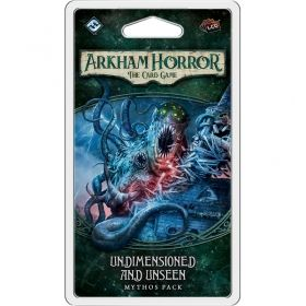 ARKHAM HORROR: THE CARD GAME - Undimensioned and Unsee Mythos Pack 4, Cycle 1