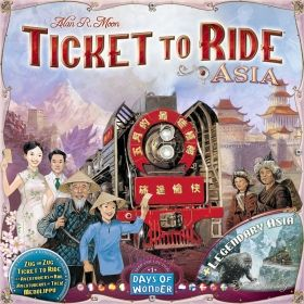 TICKET TO RIDE MAP COLLECTION: VOL. 1 - TEAM ASIA & LEGENDARY ASIA